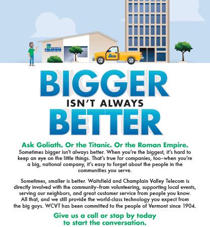 Bigger Isn't Always Better